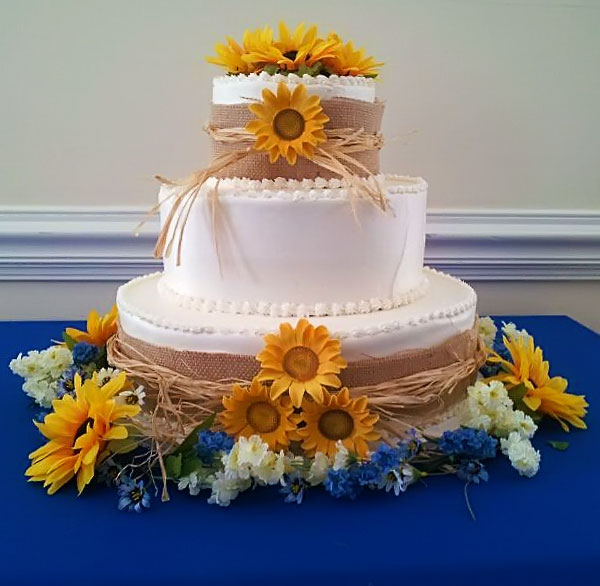 Sunflower Wedding Cake Ideas: Wedding Cakes