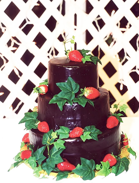 Chocolate Ganache and Strawberries